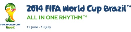 2014 FIFA World Cup Brazil™ All in One Rhythym™ graphic