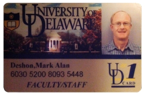 photo of UD card