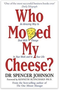 book cover, Who Moved My Cheese?